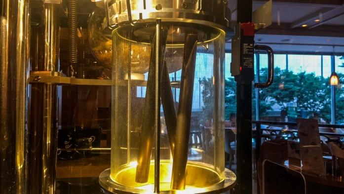焙煎機ロースターグラス