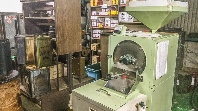 珈琲生豆研磨機