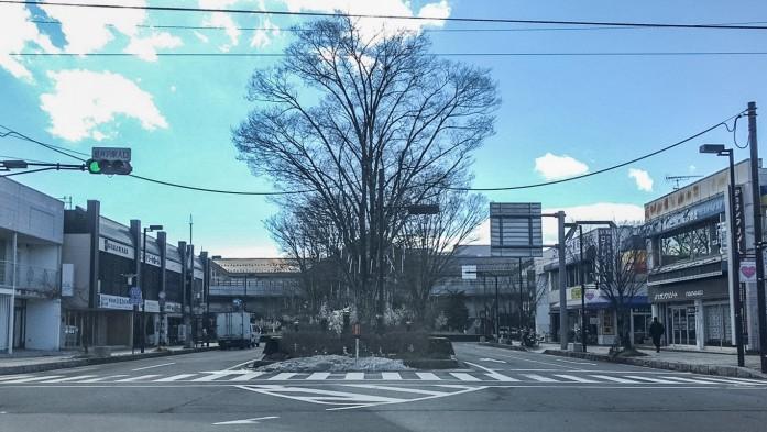 軽井沢駅前