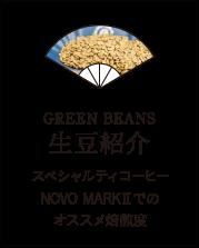 GREEN BEANS 生豆紹介
