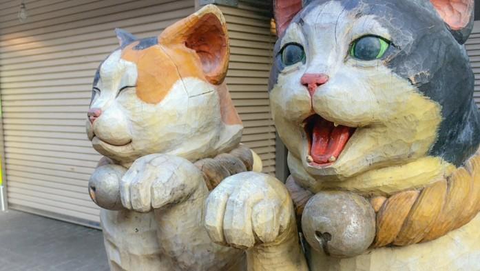 谷中銀座商店街のネコ