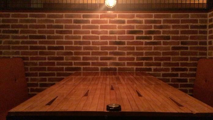 テーブルとなったレーン