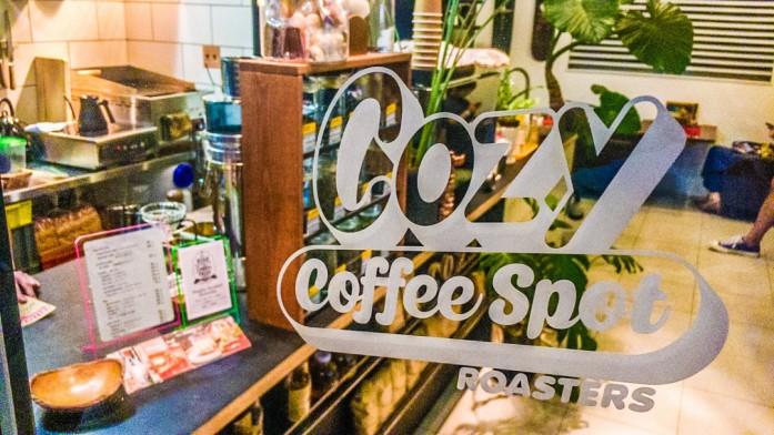 Cozycoffeeの入り口