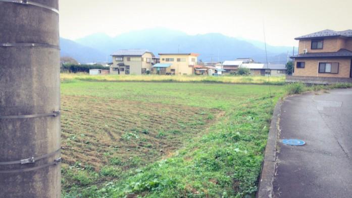 下吉田の風景