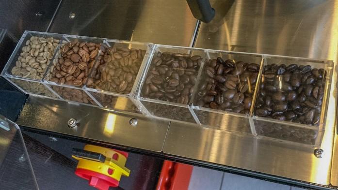 焙煎豆カラースケール