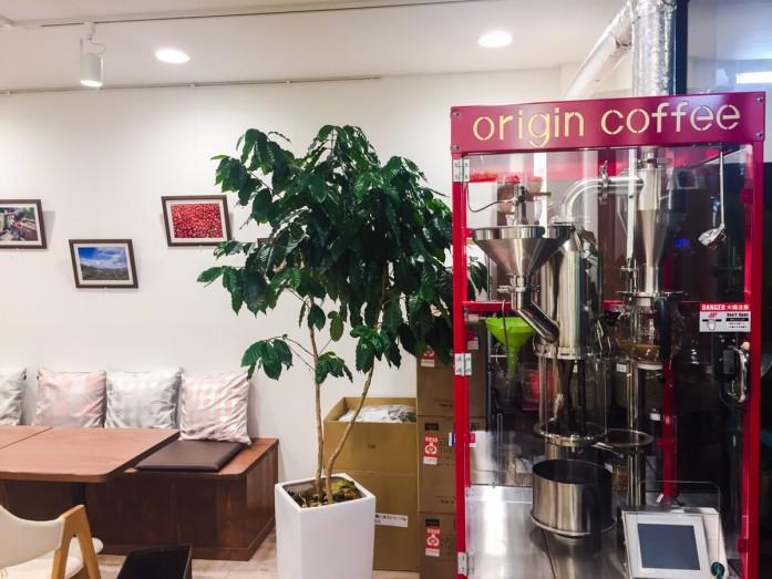 ORIGIN COFFEE の紅いNOVO MARK Ⅱ