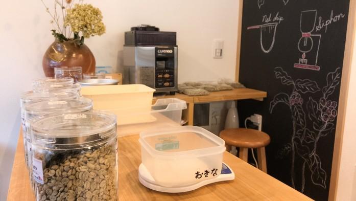 カフェプロという小型の焙煎機