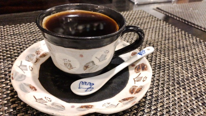 けいらくのブレンドコーヒー