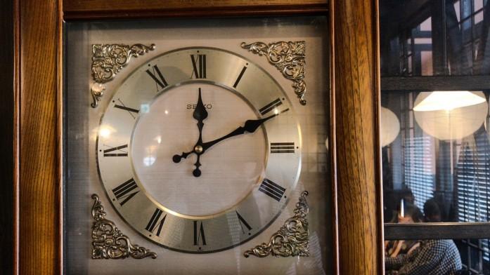 止まっている時計
